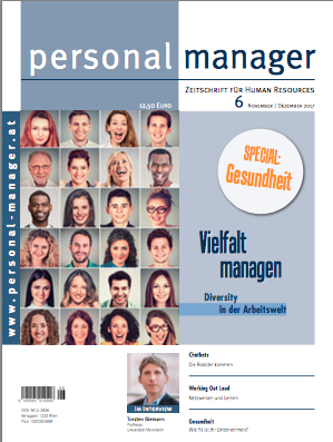 Foto personal manager magazin